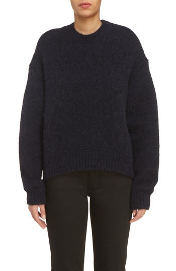 Acne Studios Karel Oversize Merino Sweater, Black