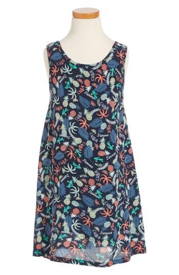 Girl's Roxy Everyone On A Run Print Dress
