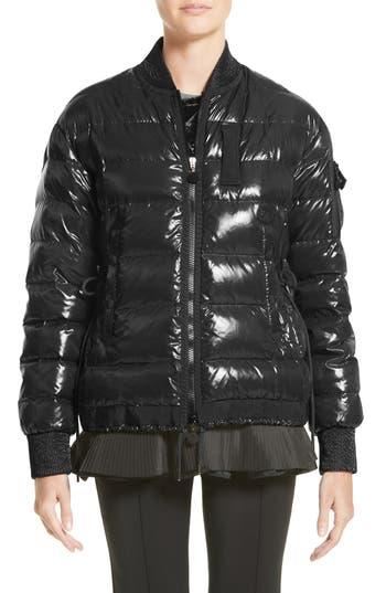 Women's Moncler Lucy Peplum Down Puffer Jacket at NORDSTROM.com