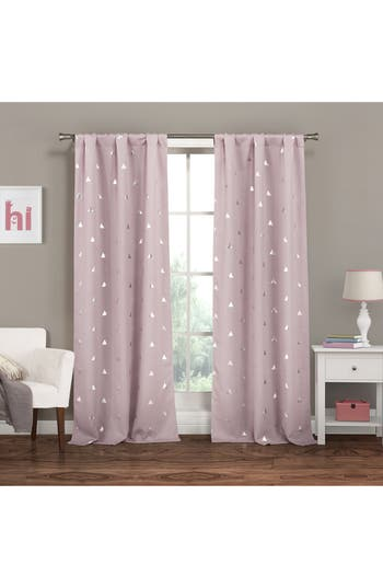 Lala + Bash Trina Blackout Window Panels, Size One Size - Purple