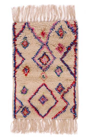 Dash & Albert Tilda Hand Knotted Wool Blend Rug, Size Swatch - Beige