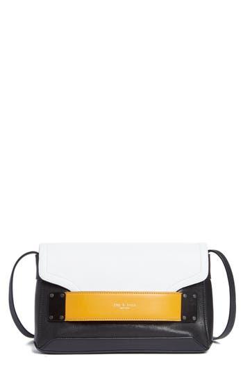 Rag & Bone Pilot Leather Clutch - Yellow