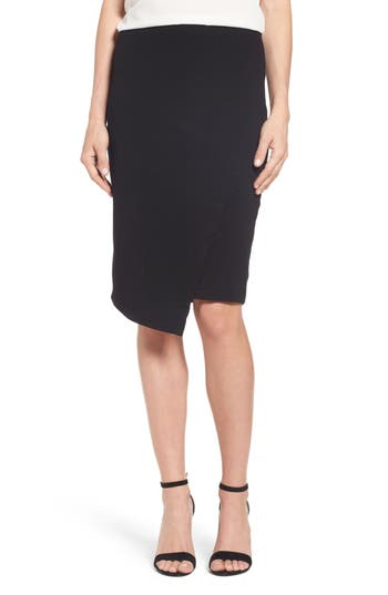 Vince Camuto Faux Wrap Tube Skirt