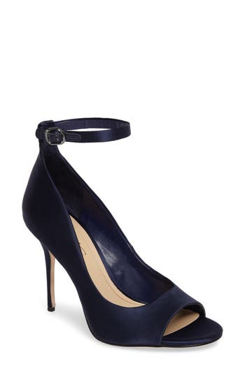 Imagine By Vince Camuto Rielly Ankle Strap Sandal, Blue