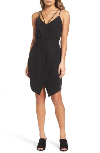 Adelyn Rae Noemi Sheath Dress, Black
