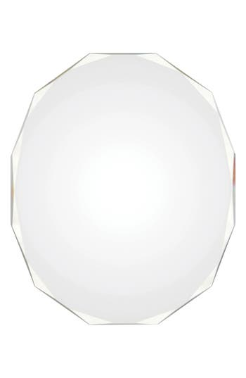 Renwil Astor Round Mirror, Size One Size - White