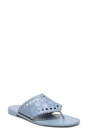 Diane Von Furstenberg Ekati Thong Sandal, Blue
