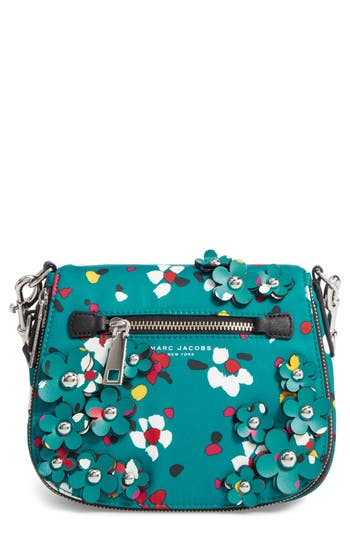Marc Jacobs 3D Flower Small Nomad Nylon Crossbody Bag -
