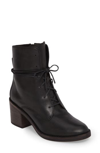 Ugg Oriana Lace-Up Boot- Black