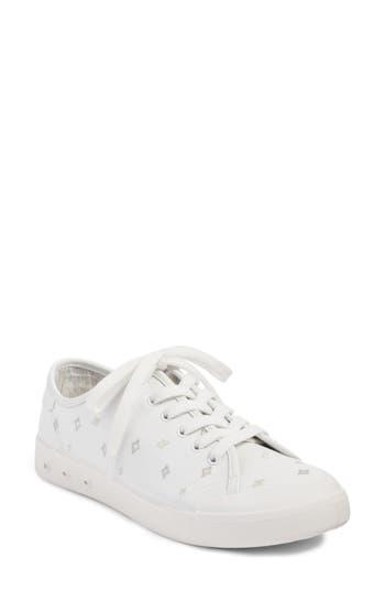 Rag & Bone Embroidered Standard Issue Sneaker, White