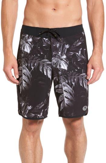 Tommy Bahama Pacific Palm Noir Board Shorts, Black