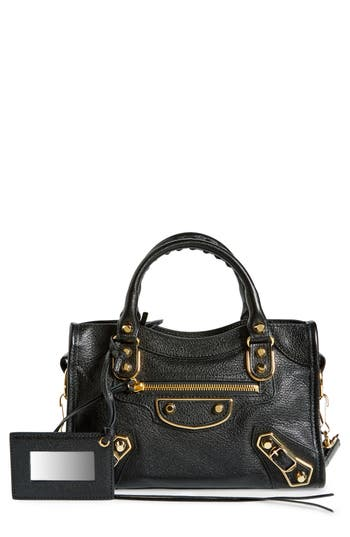 Balenciaga Metallic Edge Mini City Bag -