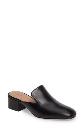 Women's Lewit Bianca Block Heel Mule, Size 5US / 35EU - Black