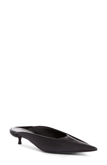 Balenciaga Skimmer Mule, Black
