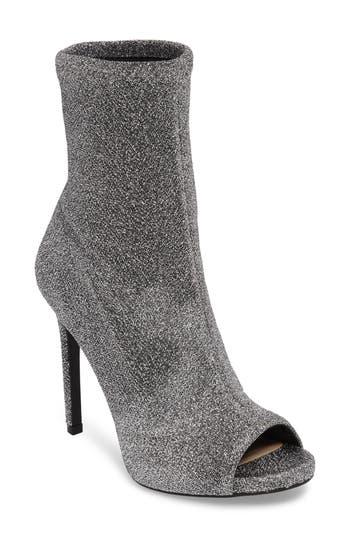 Jessica Simpson Rainer Peep Toe Bootie- Metallic