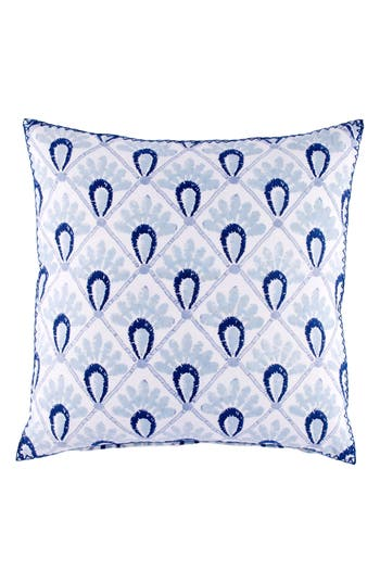 John Robshaw Hila Accent Pillow, Size One Size - Blue