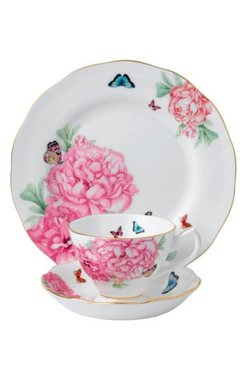 Miranda Kerr For Royal Albert Friendship 3-Piece Place Setting, Size One Size - White
