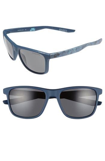Nike Unrest Se 57Mm Sunglasses - Matte Squadron Blue/ Pewter