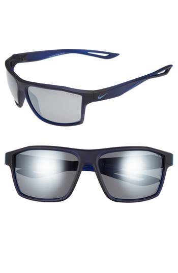 Nike Legend 65Mm Multi-Sport Sunglasses - Matte Obsidian/ Ocean Fog