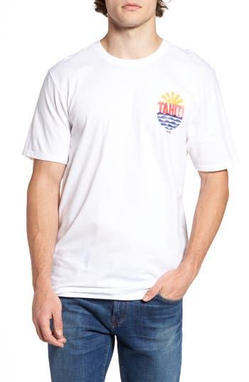 Hurley Tahiti Graphic T-Shirt, White