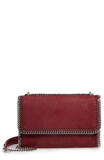 Stella Mccartney Shaggy Deer Flap Shoulder Bag - Red