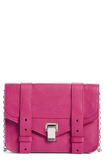 Women's Proenza Schouler Ps1 Leather Chain Wallet - Purple