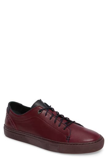Ted Baker London Prinnc Low Top Sneaker, Red