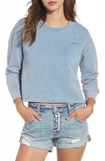 Women's Rvca Crop Sweatshirt