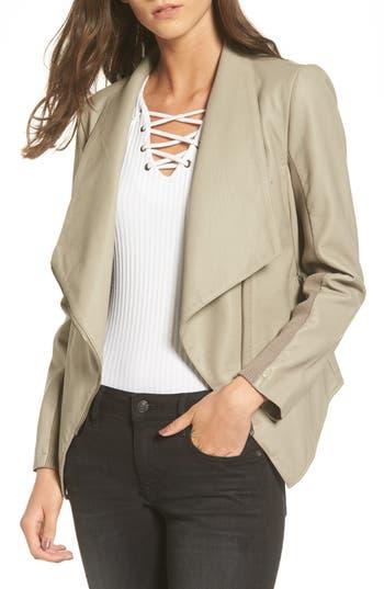 Women's Bb Dakota Gabrielle Faux Leather Asymmetrical Jacket
