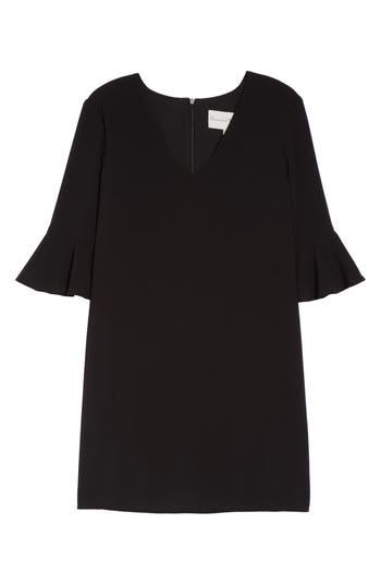 Women's Charles Henry Ruffle Sleeve Shift Dress