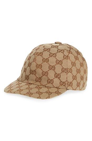 Kids Gucci Logo Baseball Cap  Brown