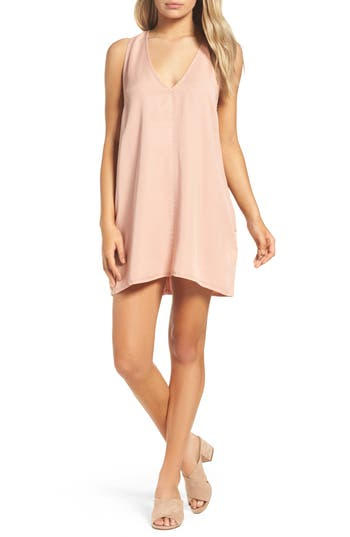Women's Knot Sisters Nadine Swing Dress, Size X-Small - Pink