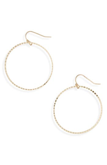 Women's Bp. Textured Hoop Earrings