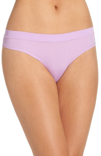 Zella Body Mesh Active Bikini, Purple