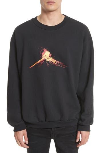 Men's Drifter Volcanus Graphic Print Sweatshirt