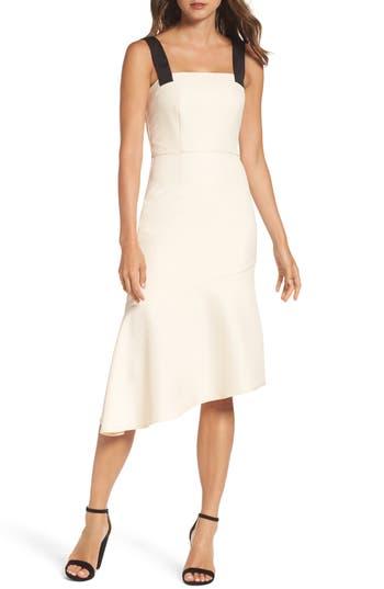 Cooper St Motu Asymmetric Hem Dress, Ivory