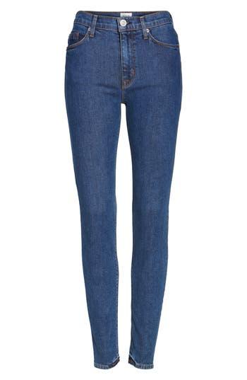 Hudson Jeans Barbara High Waist Super Skinny Jeans, Blue