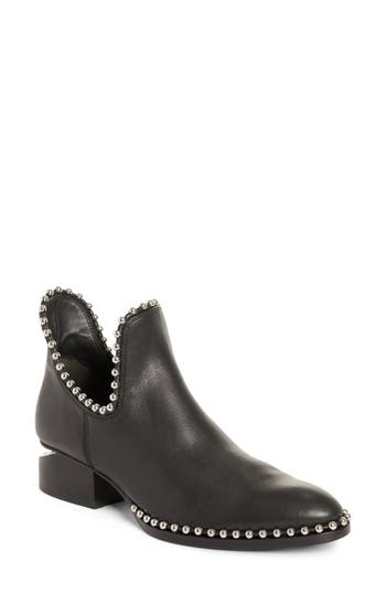 Alexander Wang Kori Beaded Cutout Bootie - Black