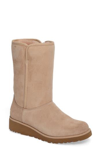 Ugg Amie - Classic Slim(TM) Water Resistant Short Boot, Brown