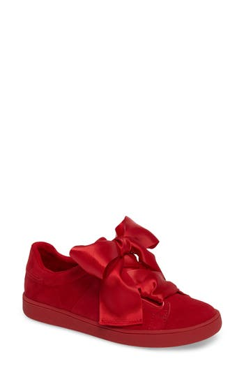 Jeffrey Campbell Pabst Low-Top Sneaker, Red