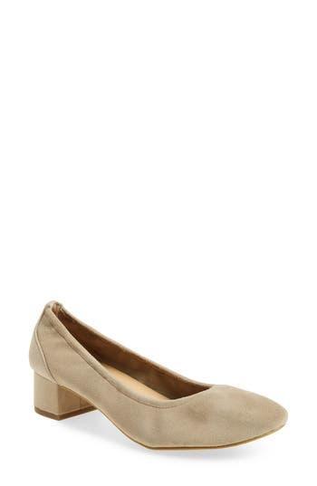 Bella Vita Matisse Block Heel Pump, Brown