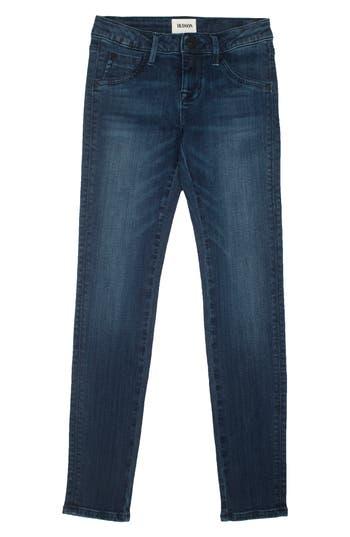 Girl's Hudson Kids Christa Flap Pocket Skinny Jeans
