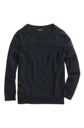 J.crew Tippi Merino Wool Sweater, Black