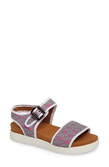 Bernie Mev. Webster Inset Platform Sandal, Pink