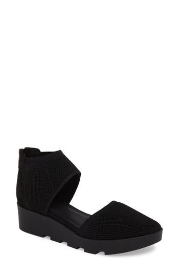 Eileen Fisher Ogden Knit Wedge, Black