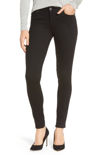 Kut From The Kloth Diana Curvy Fit Skinny Jeans, Black