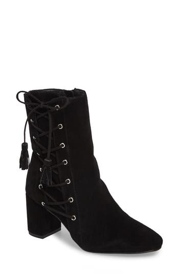Matisse Harp Lace-Up Bootie- Black