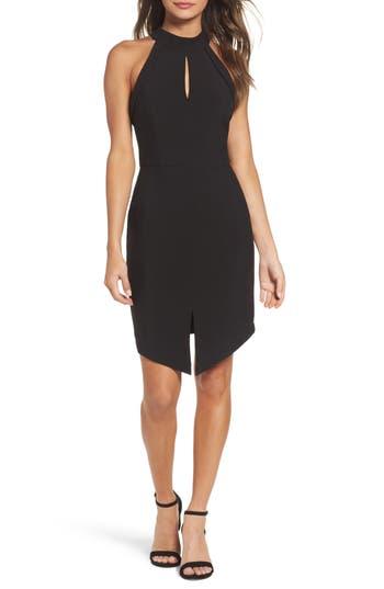 Adelyn Rae Marlena Sheath Dress, Black