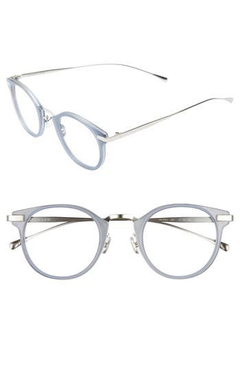 Derek Lam 47Mm Optical Glasses - Matte Misty Blue