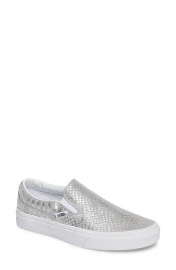 Vans Classic Slip-On Sneaker- Metallic